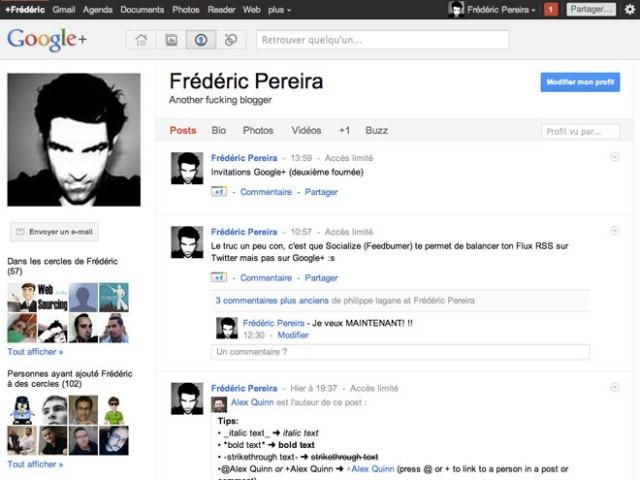 Google+ : quelques raccourcis clavier très utiles