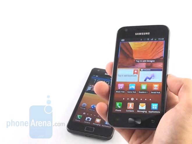 Vidéo : Samsung Galaxy R vs Samsung Galaxy S2
