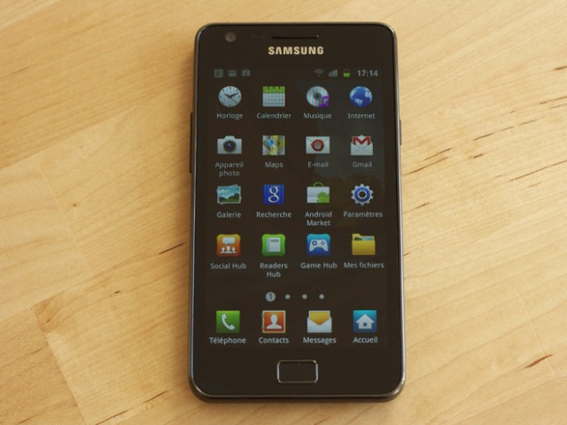 Test : Samsung Galaxy S 2