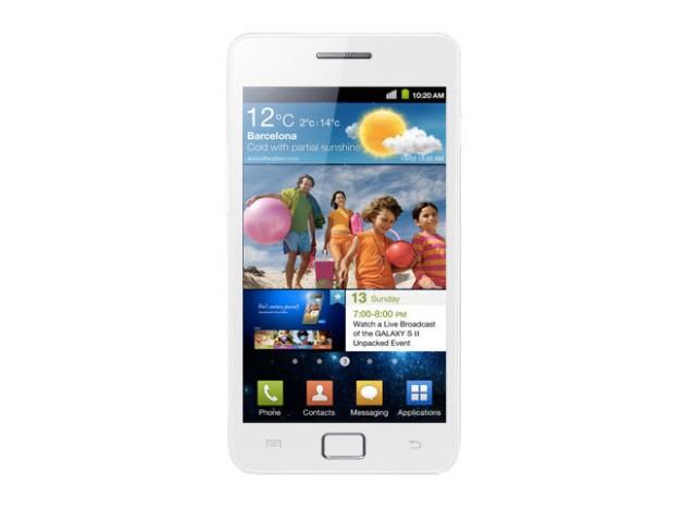 Le Samsung Galaxy S 2 blanc arrive au Royaume-Uni !