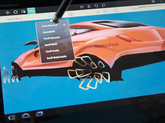 SketchBook Pro bientôt disponible sur les tablettes Android