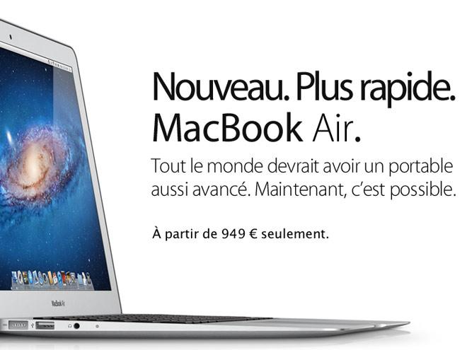 Le MacBook Air 2011 ne manque pas de puissance