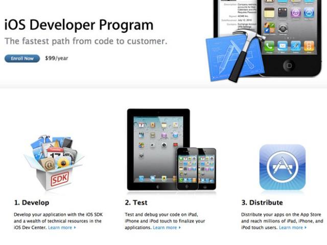 Vendre des licences iOS 5, ça peut coûter cher !