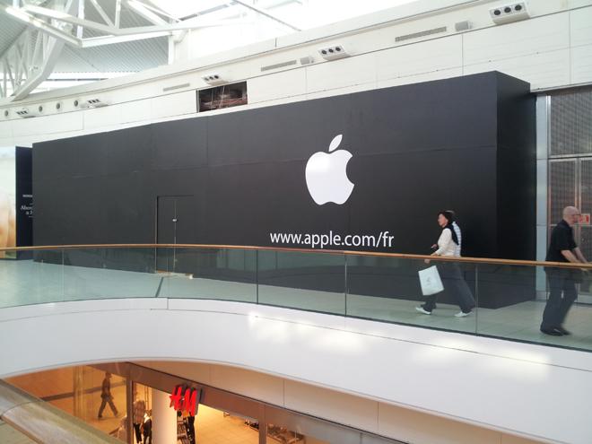 Bientôt un Apple Store à Carré Sénart ! Et aussi à Versailles !