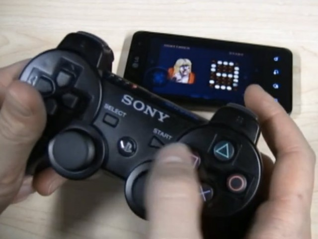 Brancher une manette PS3 sur un mobile Android, c'est possible !