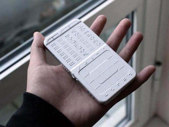 Un concept de téléphone pour les malvoyants
