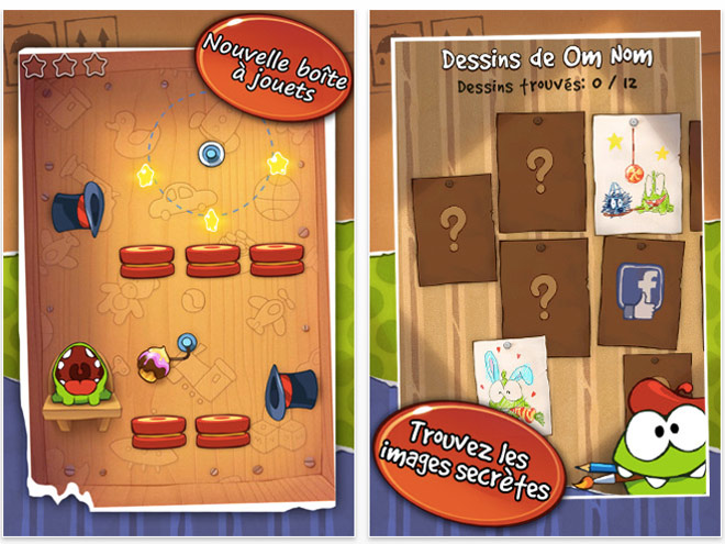 Cut the Rope Experiments sera disponible demain sur l'AppStore