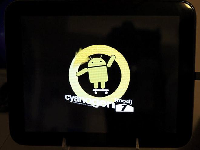 CyanogenMod arrive sur la HP TouchPad !