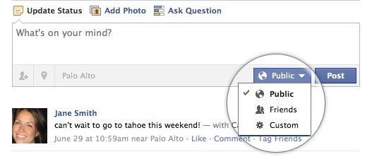 Facebook : nouvelles fonctions de partage