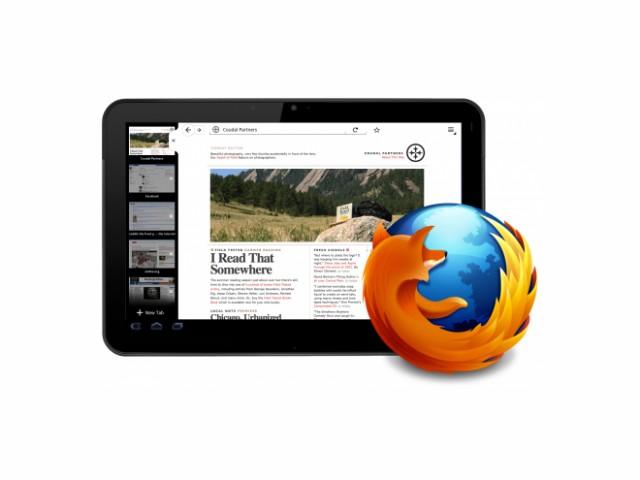 Mozilla travaille sur un Firefox optimisé pour les tablettes tactiles