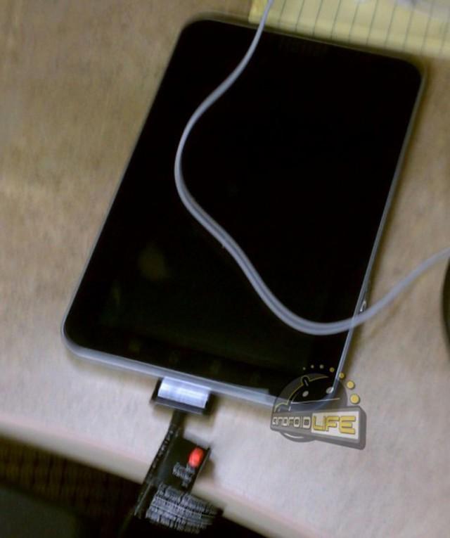Les premières photos de la Samsung Galaxy Tab 7.7