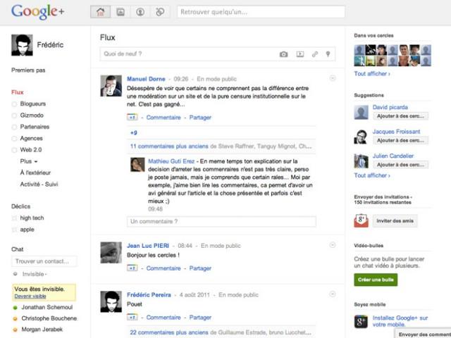 150 invitations pour Google+ à gagner (et aussi pour Google Music)