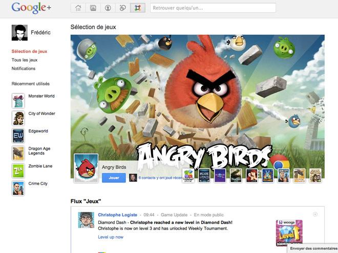 Google+ : des jeux fort sympathiques !