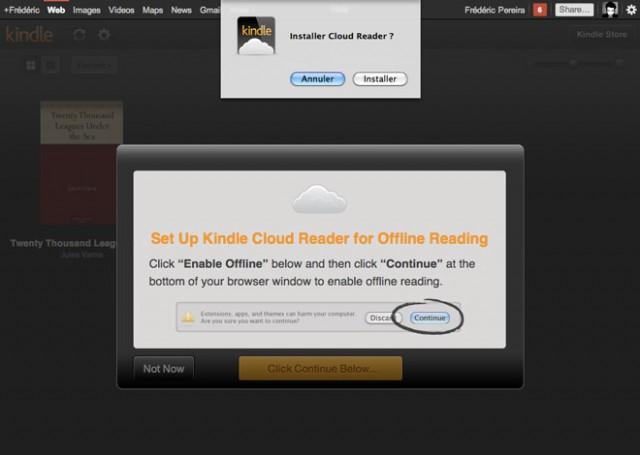 """Kindle : un réseau social et un """"Cloud Reader"""""""