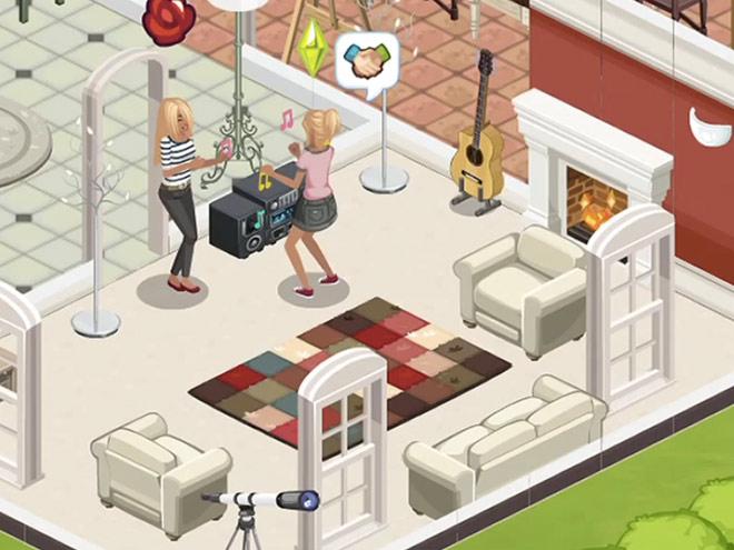 Les Sims arrivent sur Facebook !