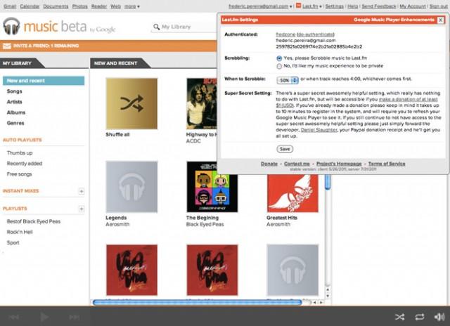 Music Plus, l'extension ultime pour Google Music