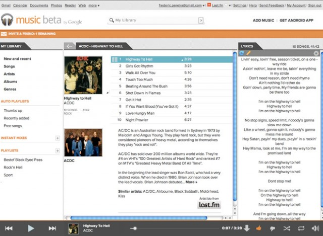 Music Plus, l'extension ultime pour Google Music