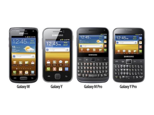 Samsung : quatre nouveaux mobiles et de nouvelles dénominations