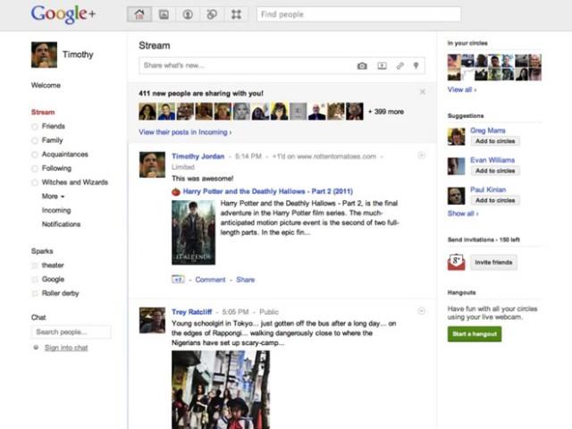 Google +1 : bientôt le partage sur Google+ !