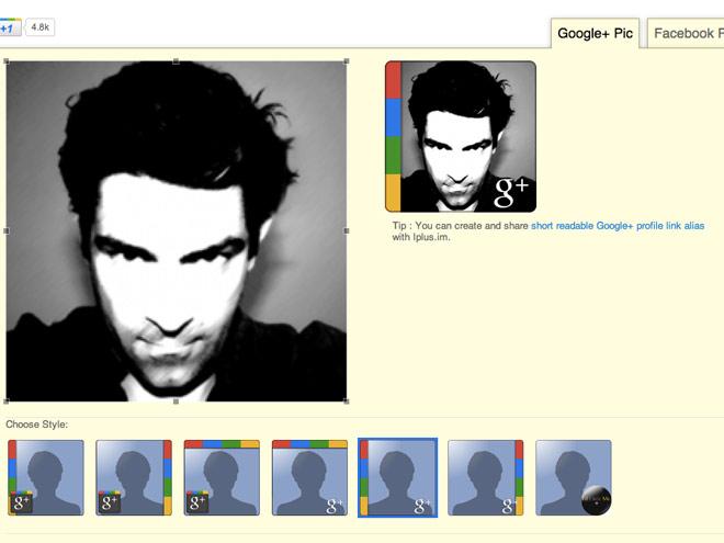 Personnaliser facilement son avatar Google+