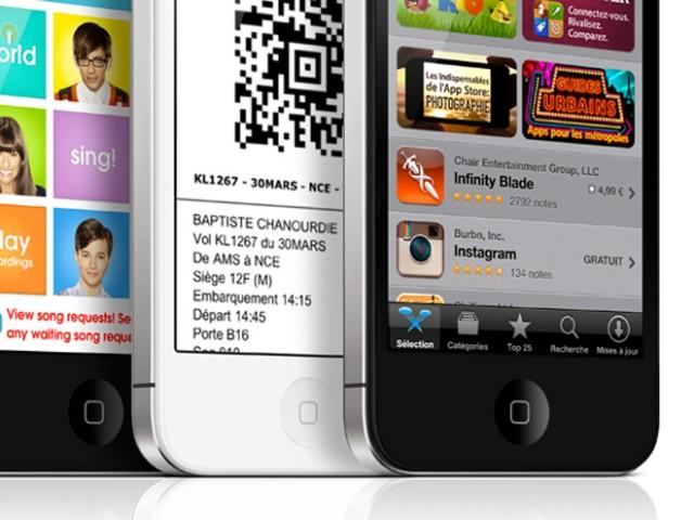 Une photo de l'iPhone 5 ?!