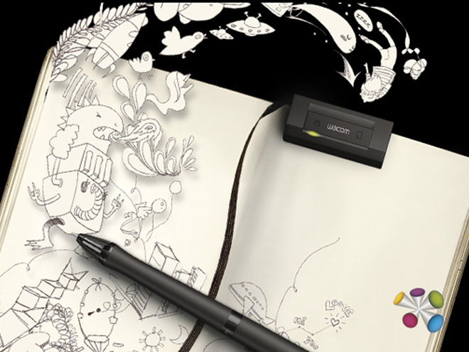 Wacom Inkling : un scanner à croquis dans un stylo !