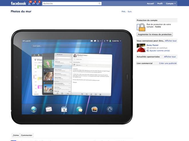 50 tablettes HP TouchPad à 99 € chez Boulanger !