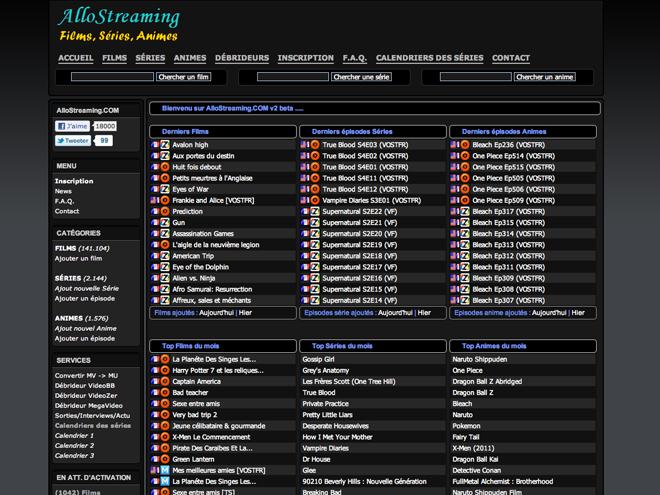 AlloStreaming et AlloShowTV supprimés de Google !