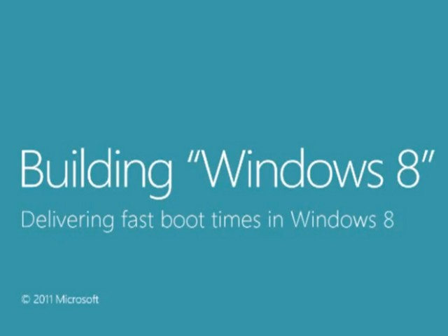 Windows 8 : un boot ultra rapide ! (vidéo)