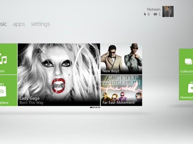 Xbox 360 : vers un Dashboard inspiré par Metro