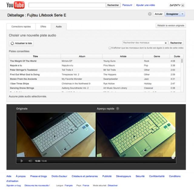 YouTube propose maintenant un éditeur de vidéos !