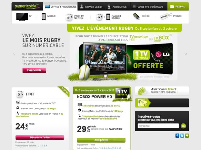 Numericable : un nouveau forfait mobile illimité à 14,90 € par mois !