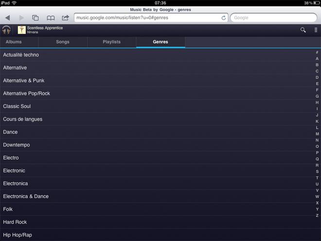 Google Music est disponible sur iOS !
