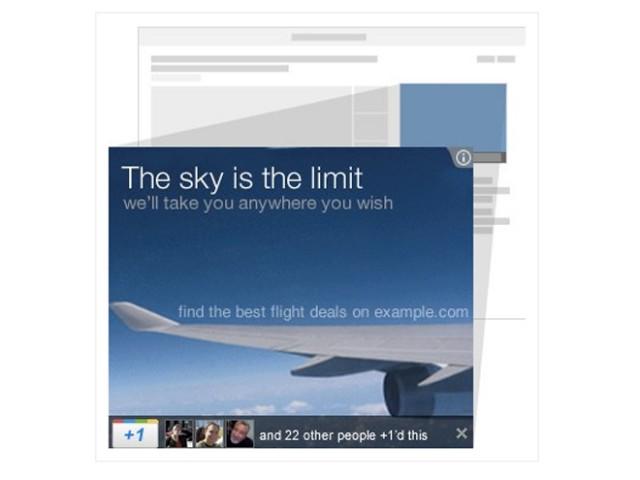 Google +1 bientôt disponible sur les publicités adSense !