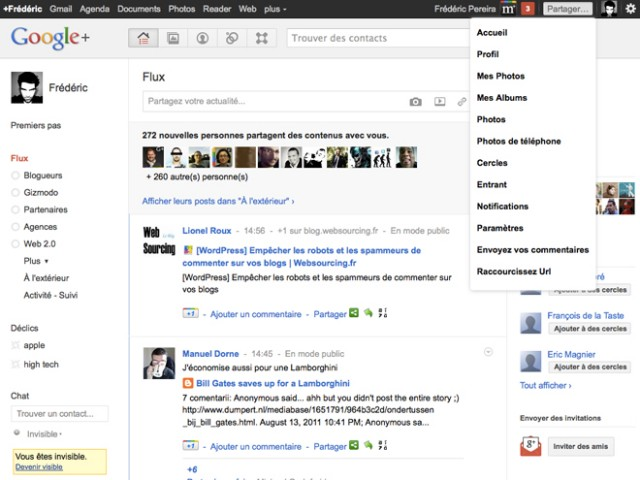Google+ Manager, l'extension ultime pour Firefox