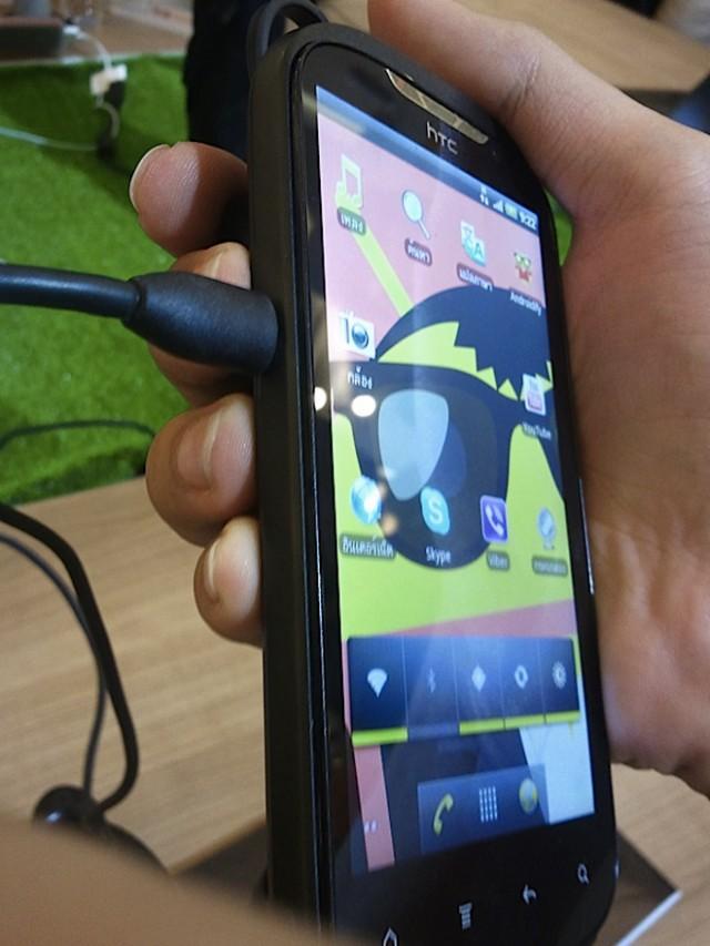 Quelques photos du HTC Amaze / Ruby