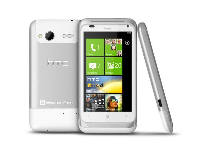 HTC Radar : un Windows Phone 7 avec écran de 3.8 pouces