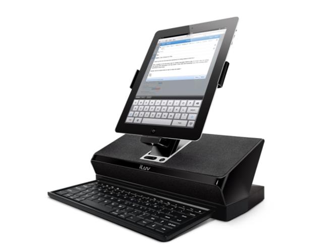 iLuv transforme ton iPad en un vrai ordinateur de bureau !
