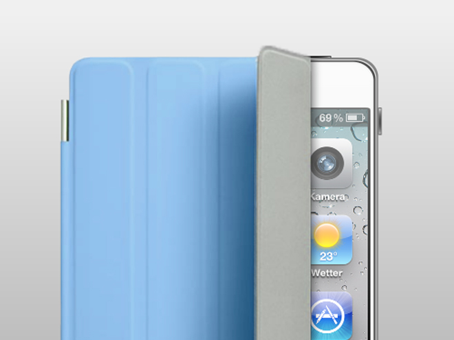 Un concept d'iPhone 5 avec Smart Cover
