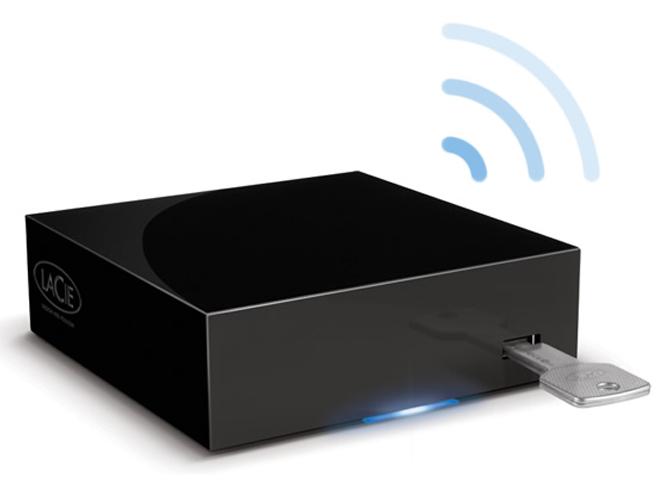 LaCie LaPlug, vos disques USB sur le réseau local ou distant