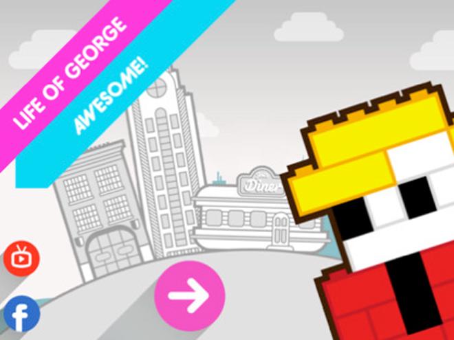 Joue aux Lego avec George et ton iPhone
