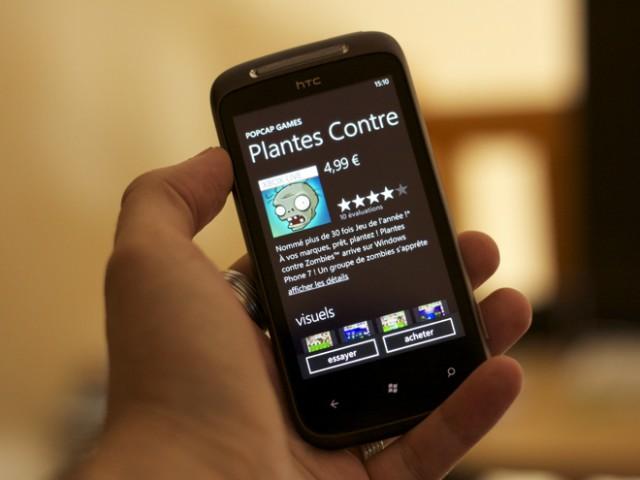 Windows Phone 7.5 Mango en cours de déploiement !
