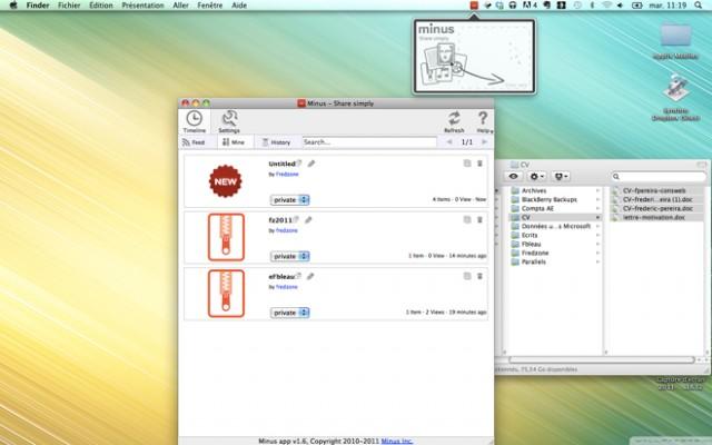 Minus, une alternative à Dropbox