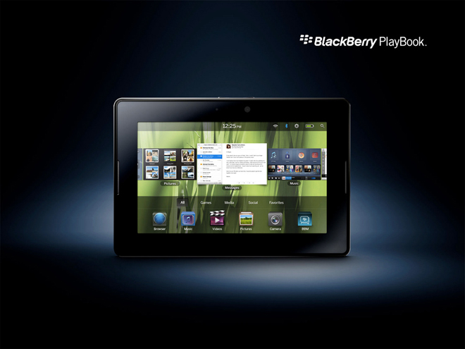 BlackBerry Playbook : la mise à jour arrive !
