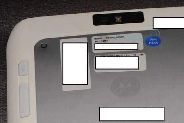 Les premières photos de la Motorola Xoom 2