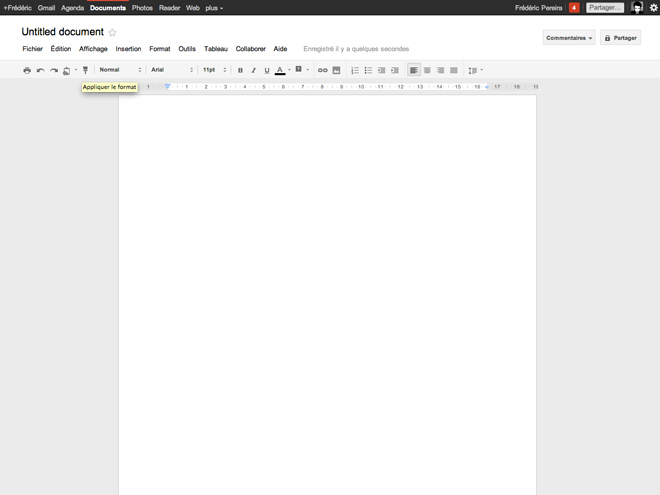 "Google Docs : commentaires, copie de mise en forme et ""Fusion Tables"""
