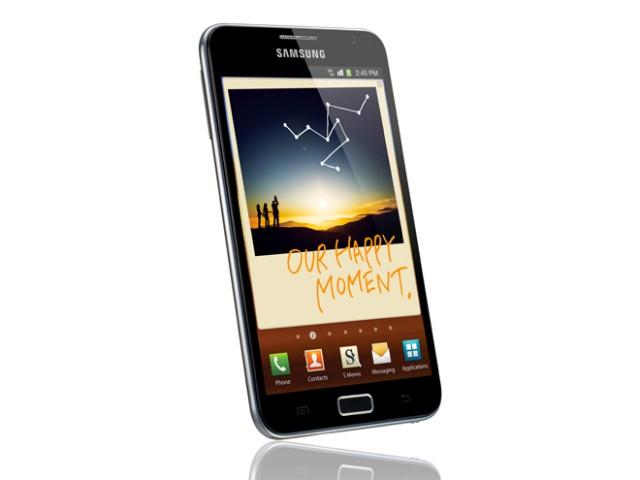 Samsung Galaxy Note : écran 5.3 pouces, livré avec stylet