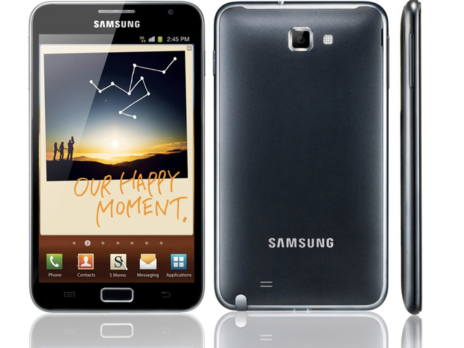 Samsung Galaxy Note : son prix et sa disponiblité