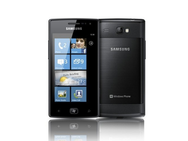 Samsung Omnia W, un mobile sous Windows Phone 7.5