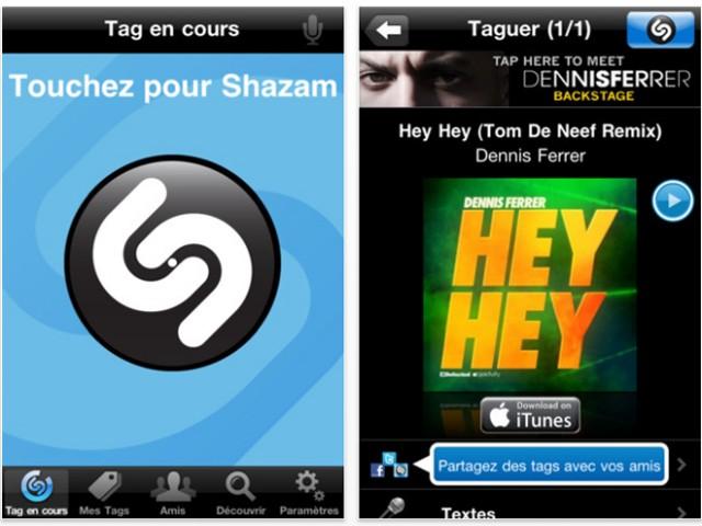 Shazam de nouveau gratuit sur iPhone !